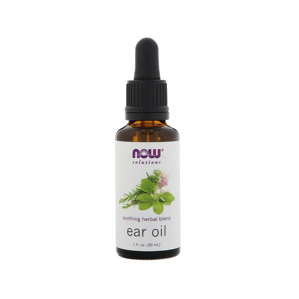 Now Foods, Ear Oil, 1 fl oz (30 ml) - Bloom Concept