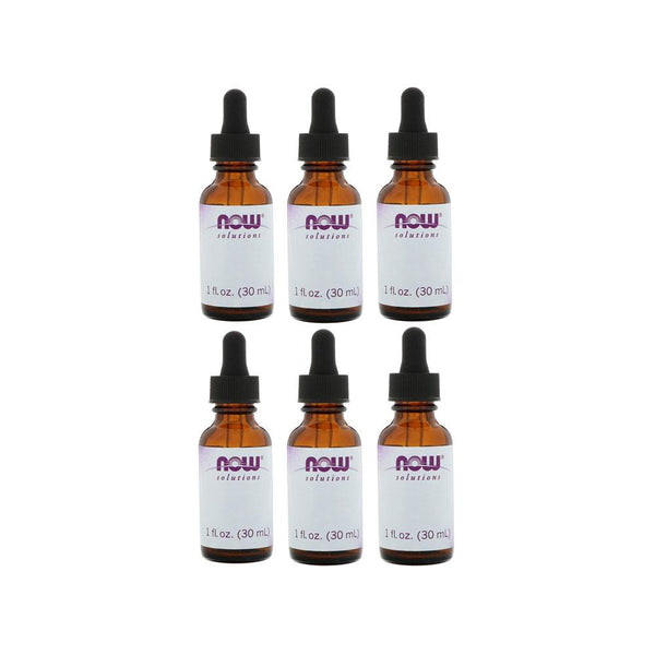 Now Foods, Empty 1 fl oz Amber Glass Bottle + Dropper, Case of 6 - Bloom Concept