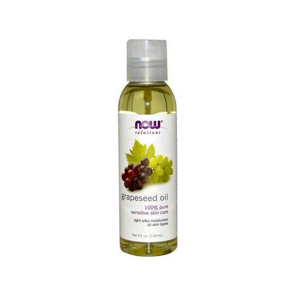 NOW Foods Grapeseed Oil (100% Pure) 4oz 118ml - by Bloom Concept