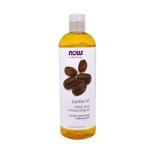 Now Foods, Solutions, Jojoba Oil, 16 fl oz (473 ml) - Bloom Concept