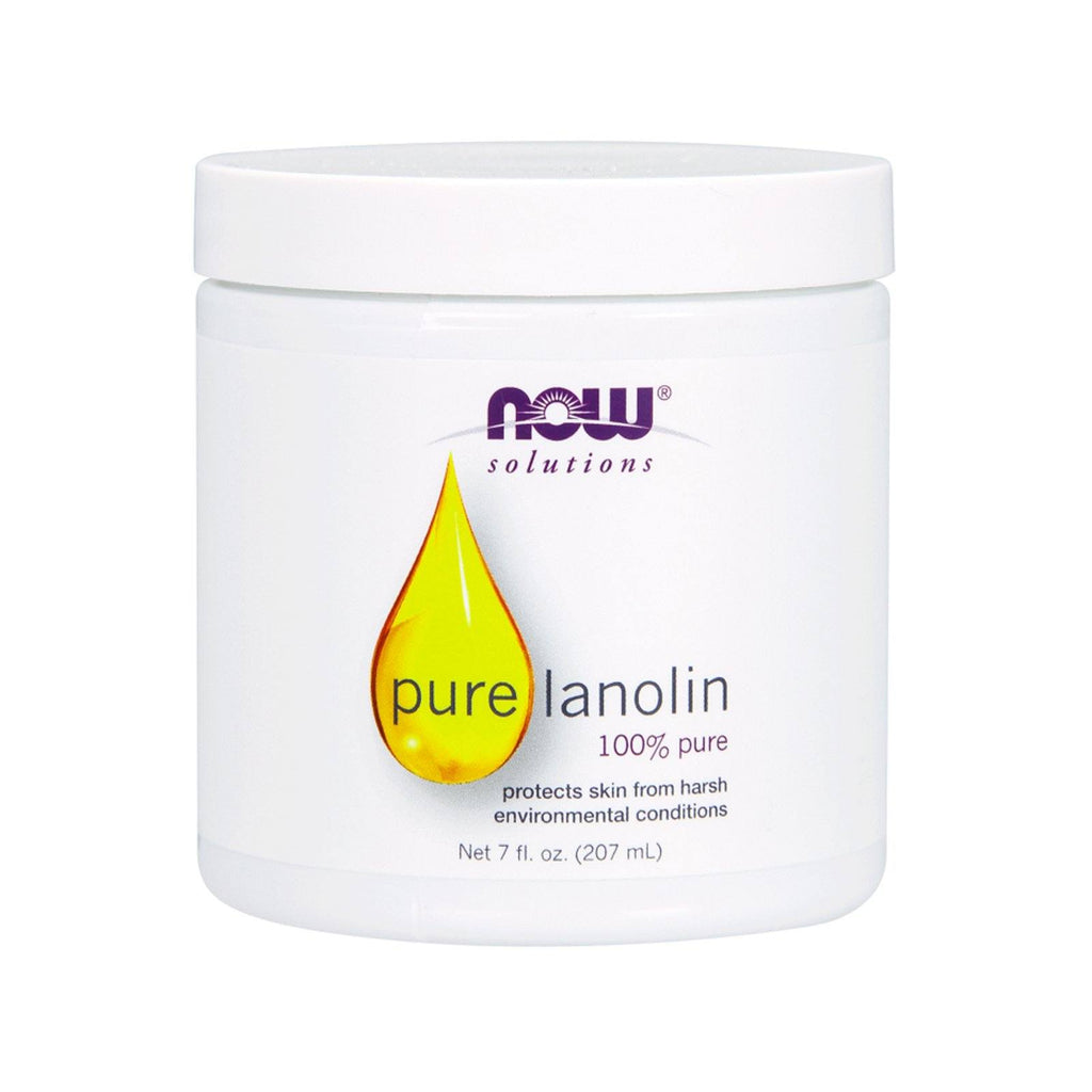 Now Foods, Solutions, Pure Lanolin, 7 fl oz (207 ml) - Bloom Concept