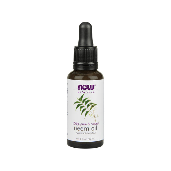 Now Foods, Solutions, Neem Oil, 1 fl oz (30 ml) - Bloom Concept
