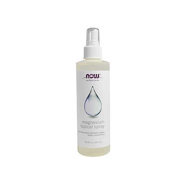 Now Foods, Magnesium Topical Spray, 8 fl oz (237 ml) - Bloom Concept