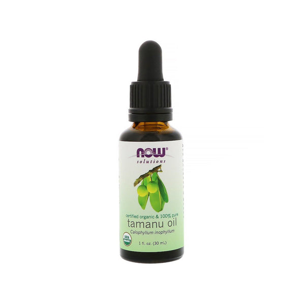 Now Foods, Certified Organic & 100% Pure, Tamanu Oil, 1 fl oz (30 ml) - by Bloom Concept