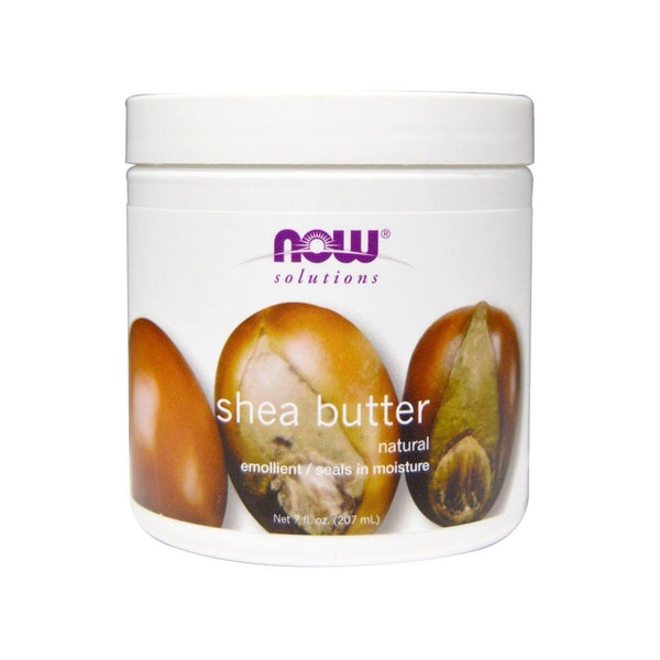 NOW Foods Natural Shea Butter 7oz 207ml - Bloom Concept