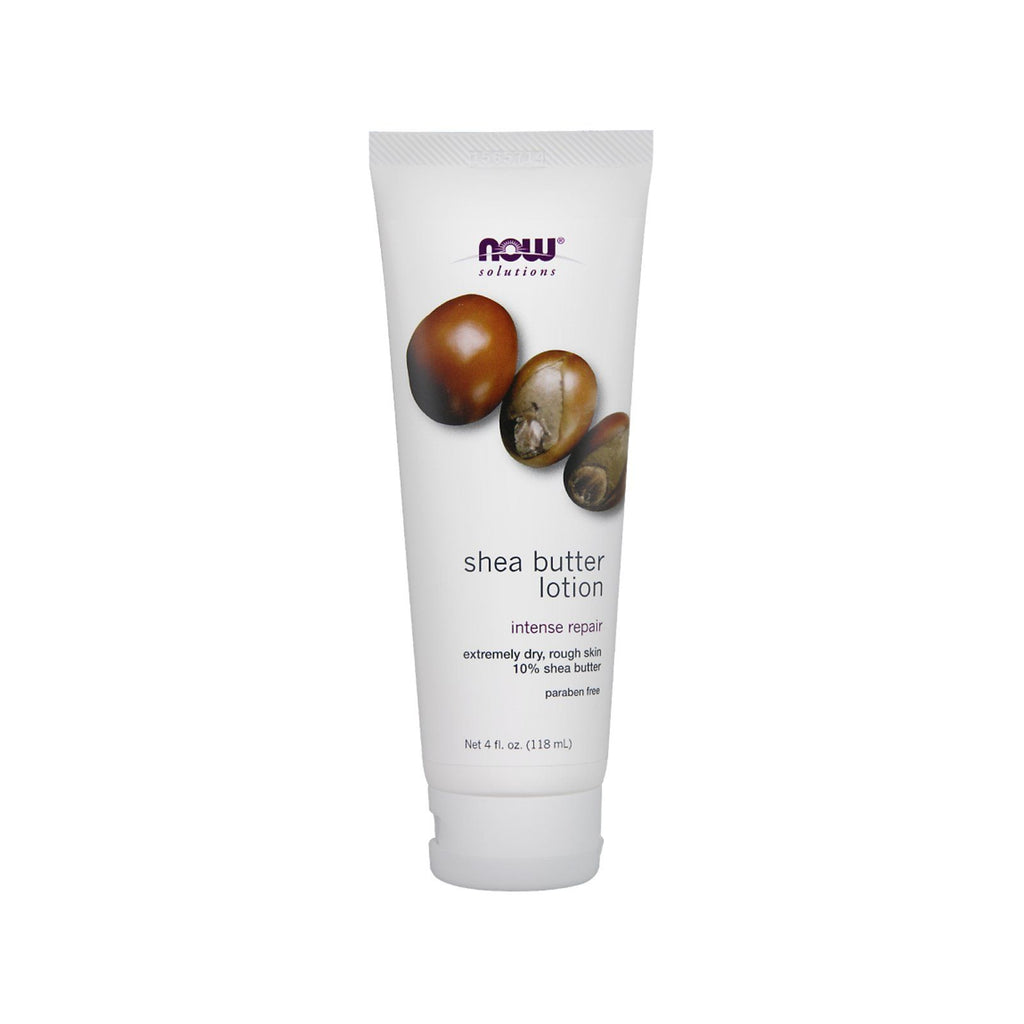 Now Foods, Solutions, Shea Butter Lotion, 4 fl oz (118 ml) - Bloom Concept