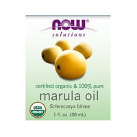 Now Foods, Solutions, Organic Marula Oil, 1 fl oz (30 ml) - Bloom Concept