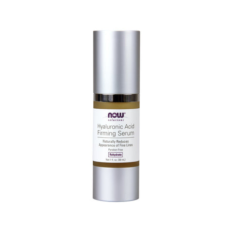 Now Foods, Solutions, Hyaluronic Acid Firming Serum, 1 fl oz (30 ml) - Bloom Concept