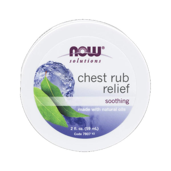 Now Foods, Chest Rub Relief, 2 fl oz (59 ml) - Bloom Concept