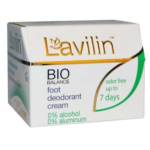 Lavilin, Foot Deodorant Cream, 12.5 g - Bloom Concept