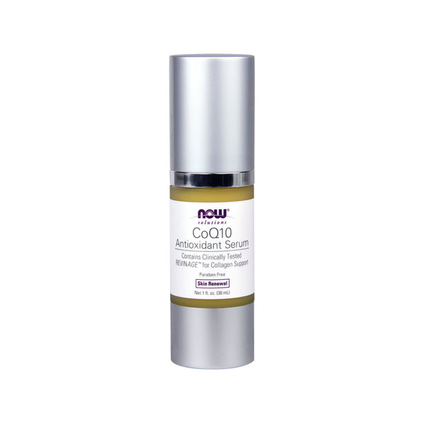 Now Foods, Solutions, CoQ10 Antioxidant Serum, 1 fl oz (30 ml) - Bloom Concept