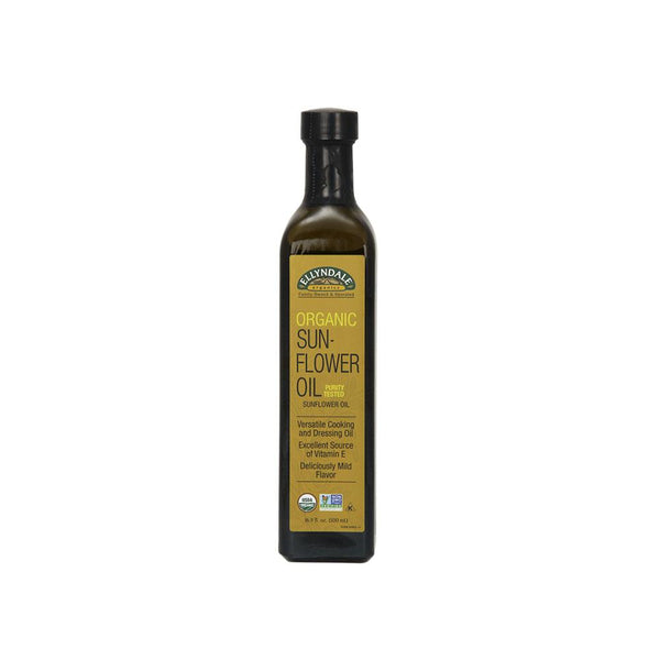 Now Foods, Ellyndale, Organic Sunflower Oil, 16.9 fl oz (500 ml) - Bloom Concept