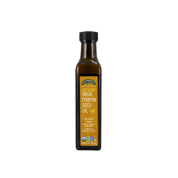 Now Foods, Ellyndale, Organic Virgin Pumpkin Seed Oil, 8.45 fl oz (250 ml) - by Bloom Concept