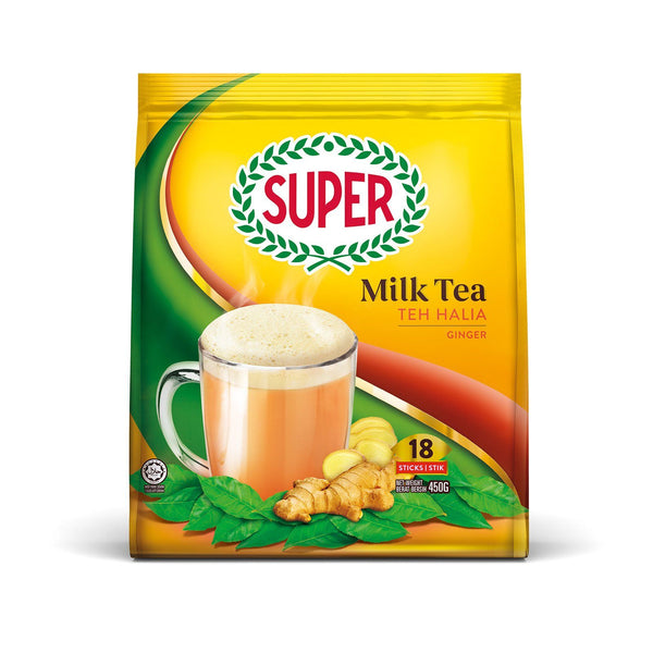 Super 3 in 1 Instant Milk Tea Teh Halia - Ginger