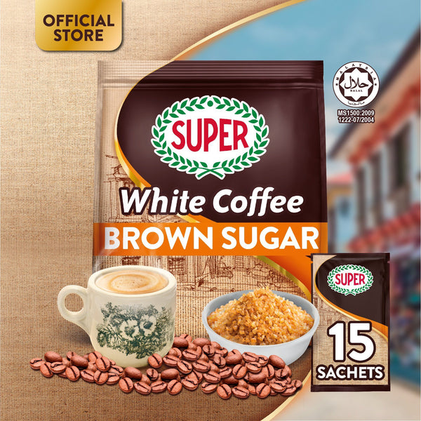 SUPER White Coffee 3in1 Brown Sugar - by Bloom Concept