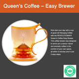 [Queen's Coffee] Coffee Brewer Orange (BPA Free - Tested by SGS) From Taiwan - Bloom Concept