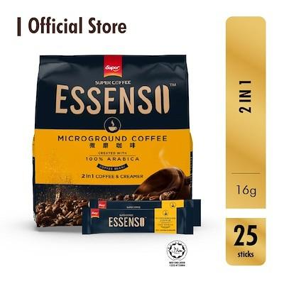 ESSENSO MicroGround Coffee - 2in1 Coffee  Creamer - Bloom Concept