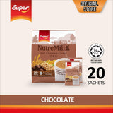 Super NutreMill 3 in 1 Instant Cereal Drink - Chocolate - Bloom Concept