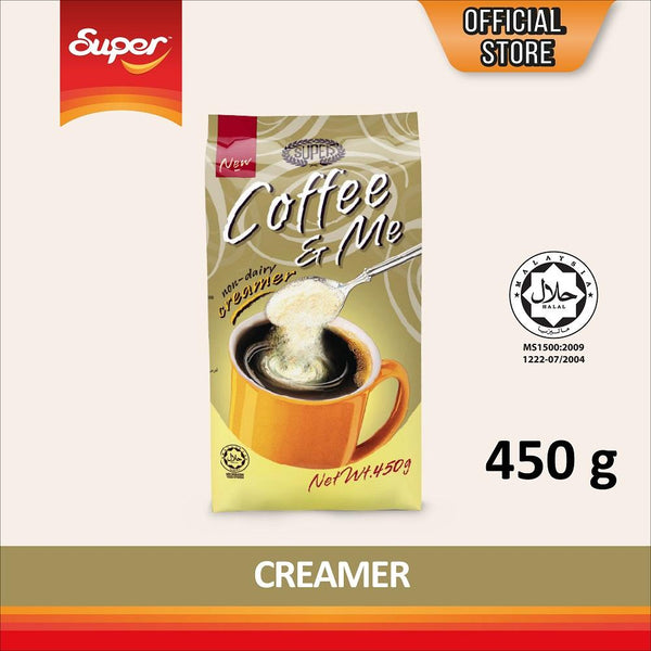 Super Coffee and Me Creamer - Non Dairy - Bloom Concept