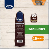 Owl White Coffee Tarik – Hazelnut - Bloom Concept