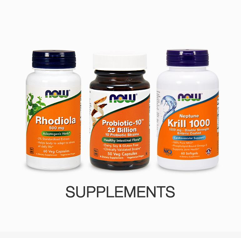 Nowfoods supplements