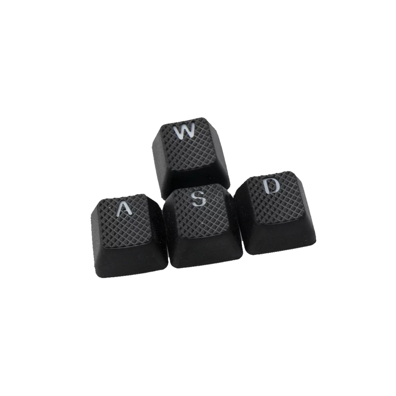 Tai-Hao ABS Rubber Double shot 8 keycap - Black