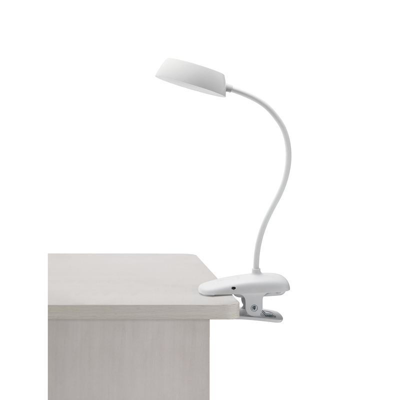 Philips 66138 DonutClip table lamp LED white 1x