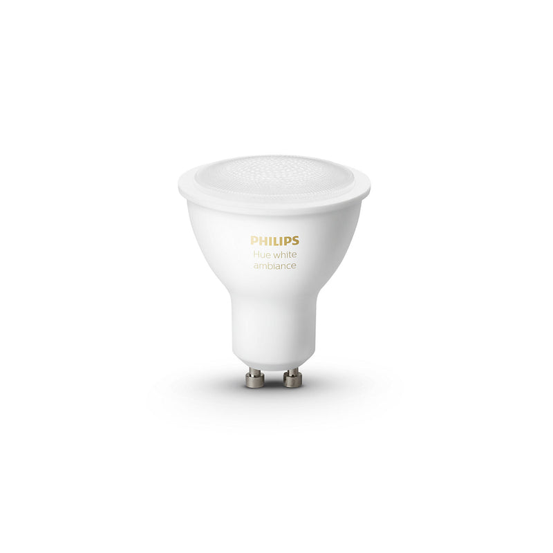 Philips Hue White Ambiance Bluetooth Single Bulb 5W GU10
