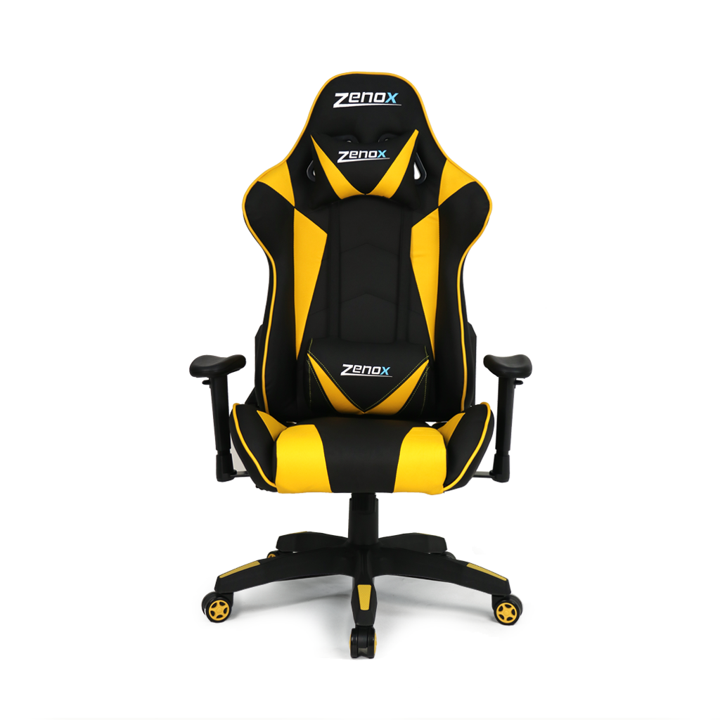 Saturn Racing Chair (Yellow)-Zenox