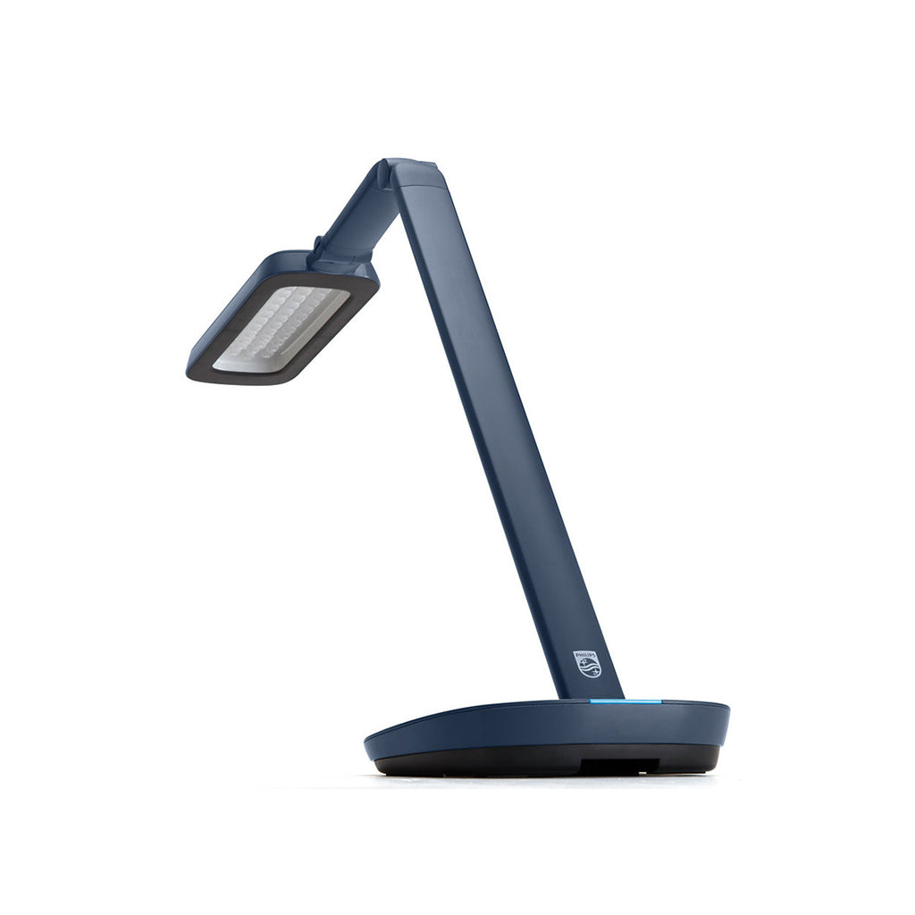 Philips - 66110 RobotPlus LED Desk Lamp 9.2W Blue