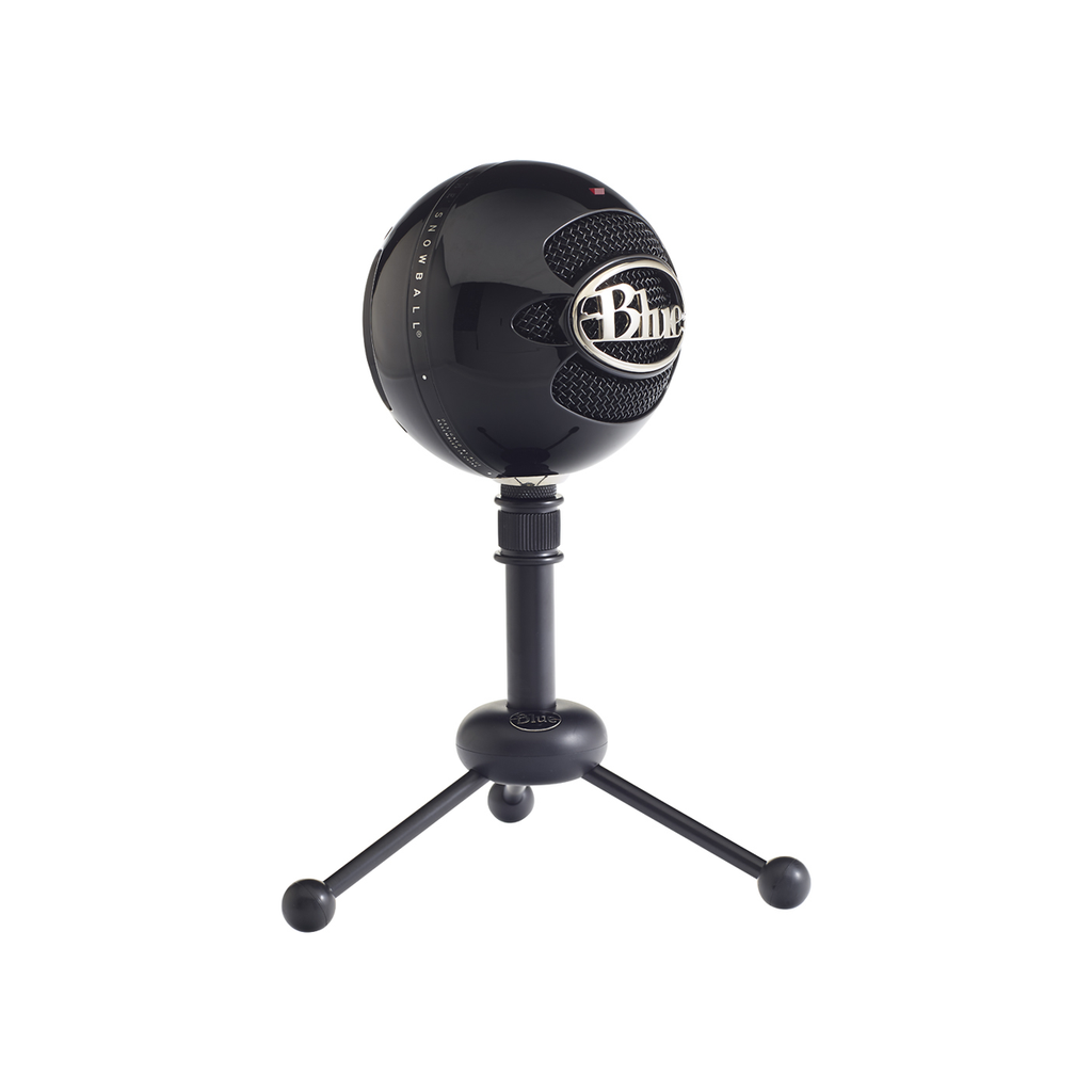 Blue Snowball USB Microphone (Blackout)