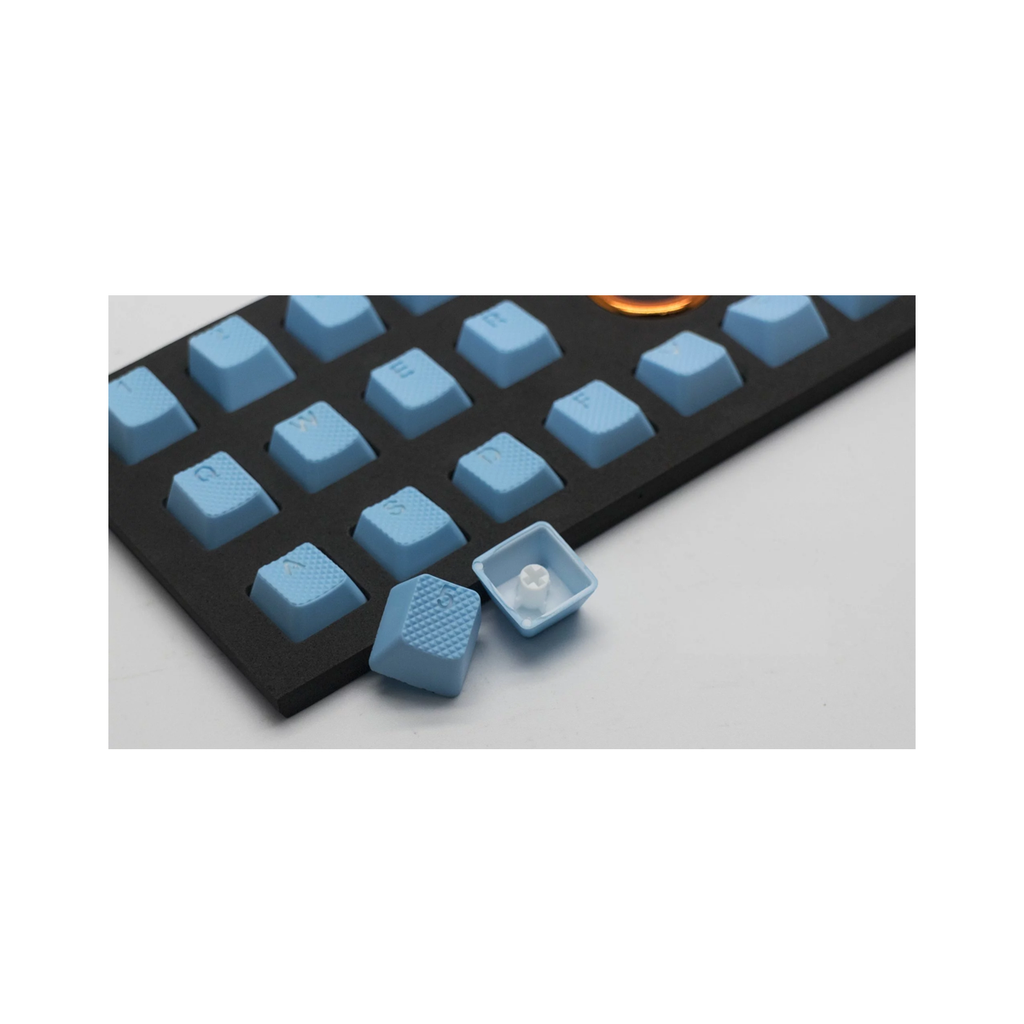 Tai-Hao ABS Rubber Double shot 8 keycap - NEON Blue