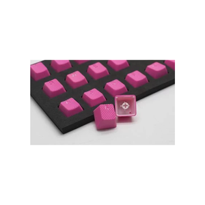 Tai-Hao ABS Rubber Double shot 8 keycap - NEON PINK