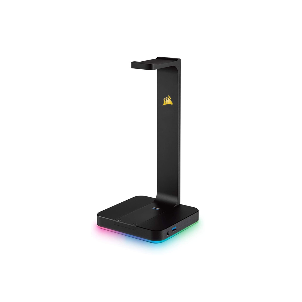 Corsair Gaming ST100 RGB Premium Headset Stand with 7.1 Surround Sound