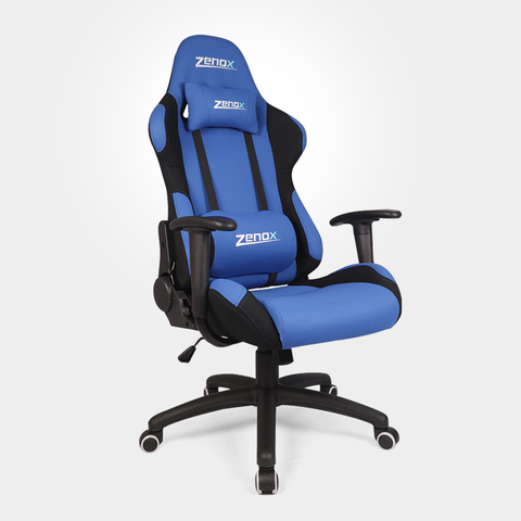 Pluto Racing Chair (Blue) - Zenox - 1