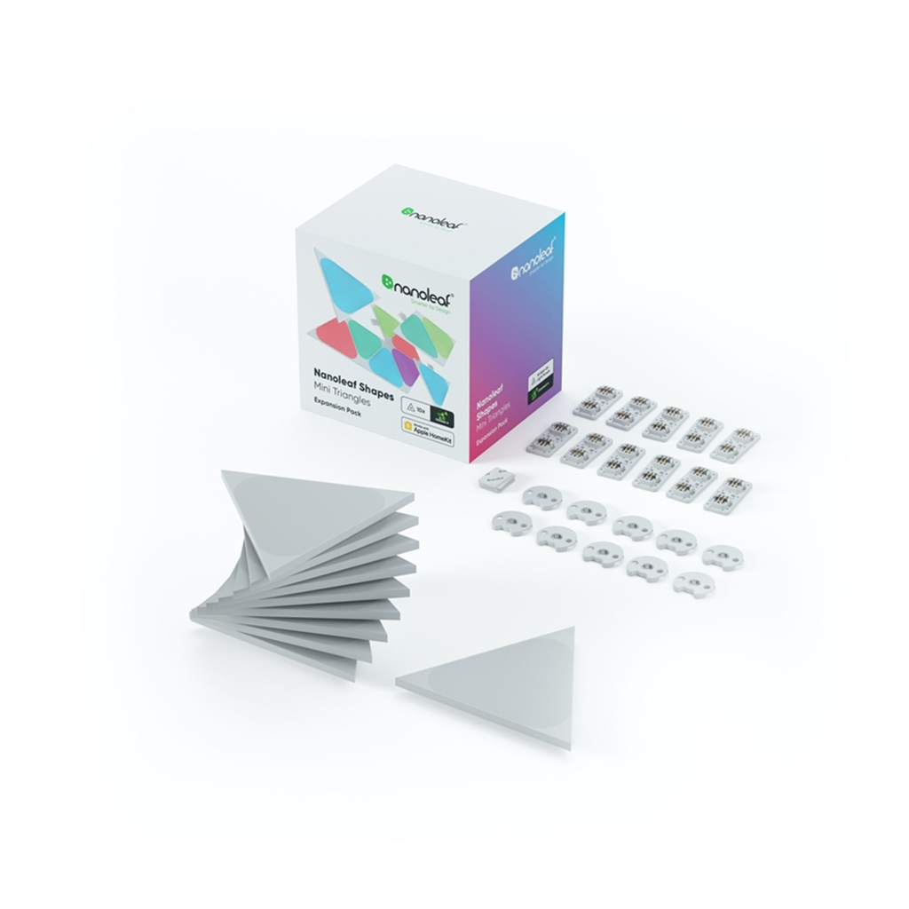 Nanoleaf Shapes Mini Triangle Expansion Pack - 10PK