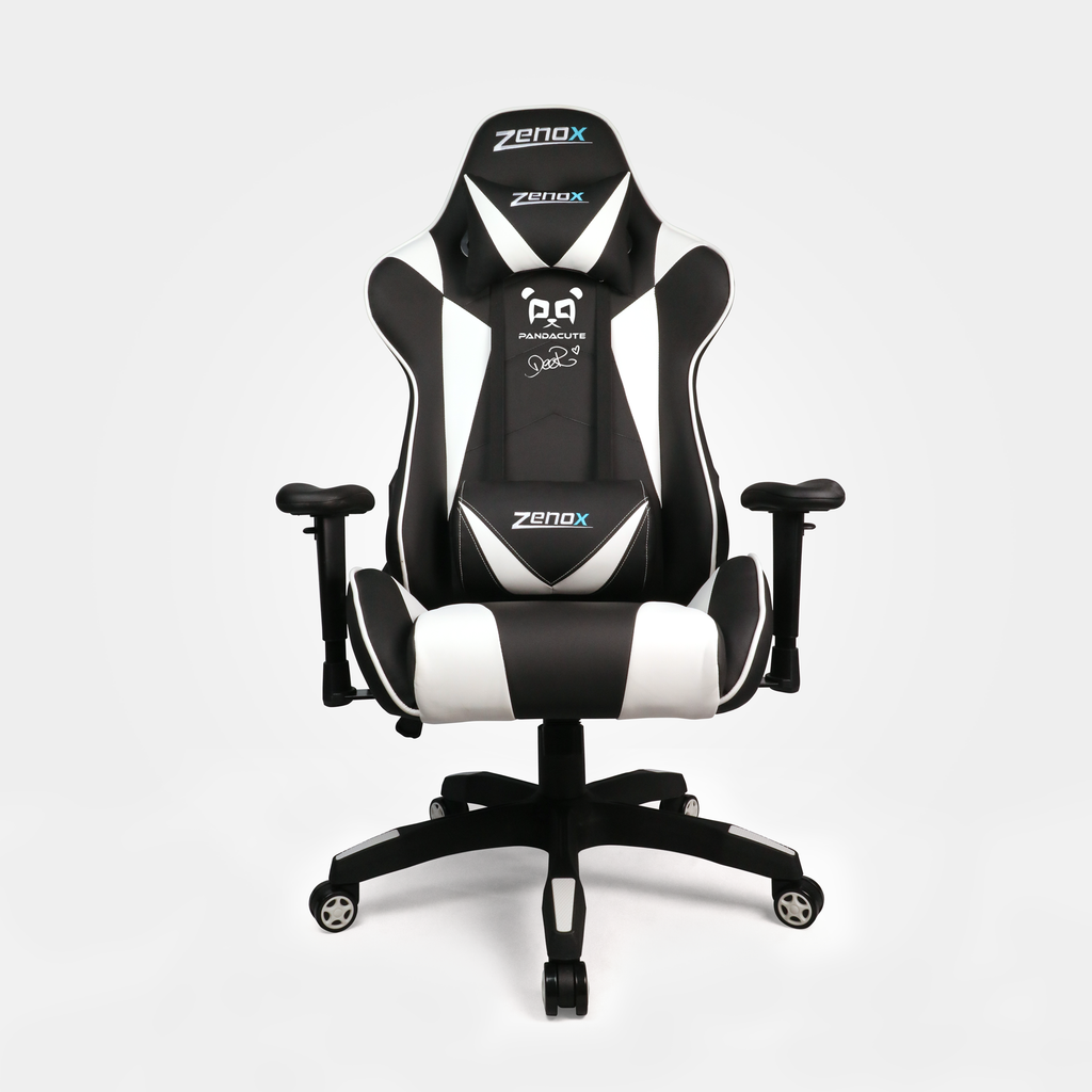 PDQ Deer Special Edition Saturn Racing Chair (White)-Zenox