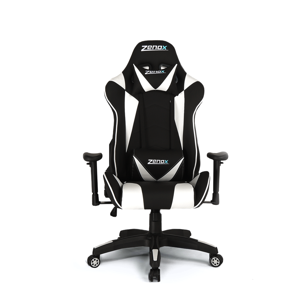 Saturn Racing Chair (White)-Zenox