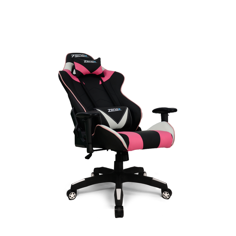 Saturn Racing Chair (Pink)-Zenox