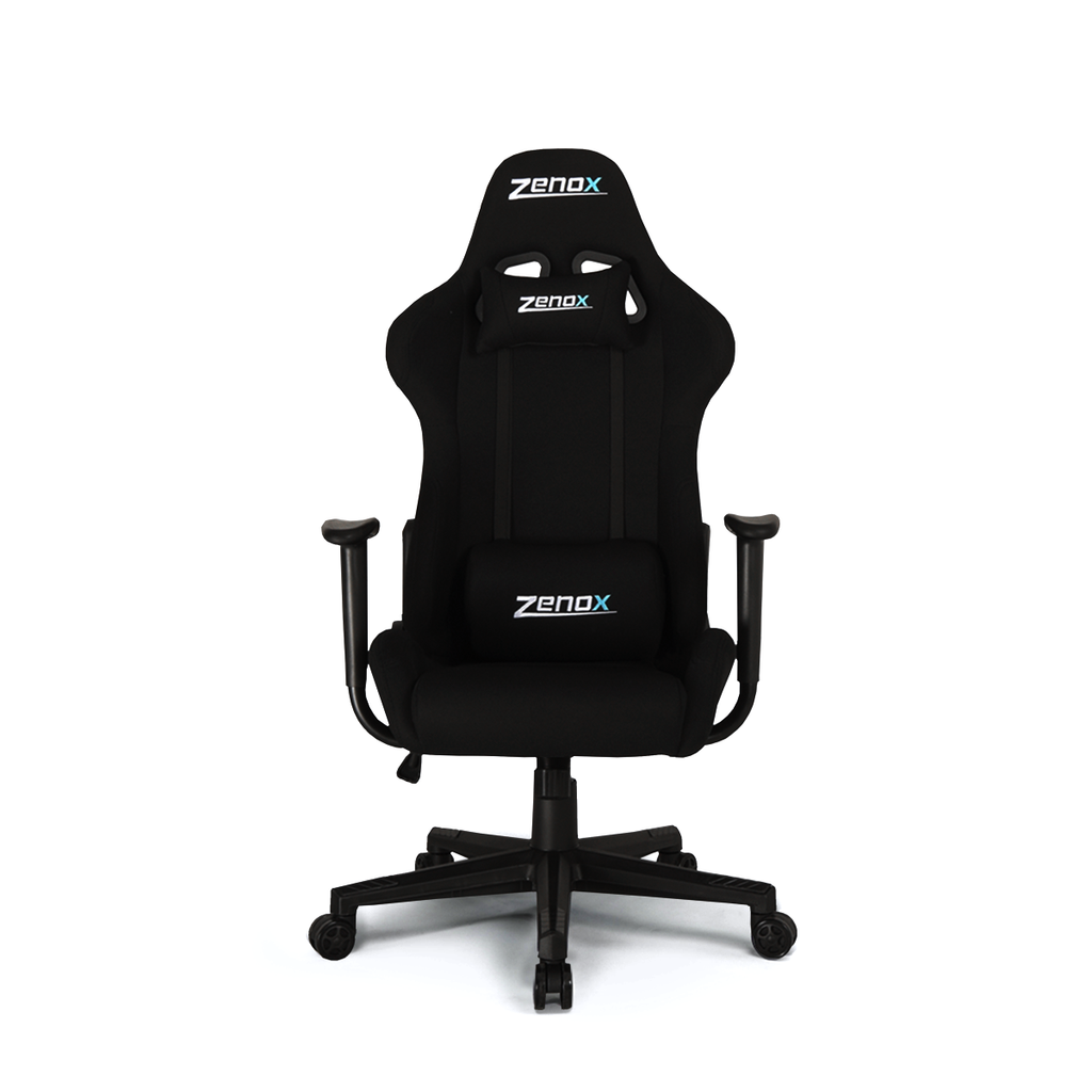 Pluto Racing Chair (Black)-Zenox