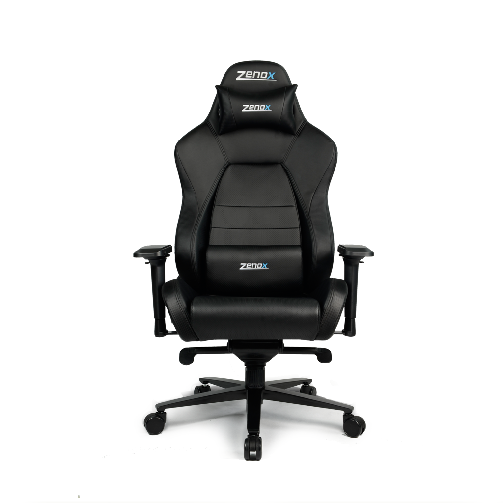 Jupiter Racing Chair (Black)-Zenox