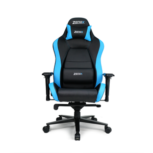 Jupiter Racing Chair (Sky Blue)-Zenox