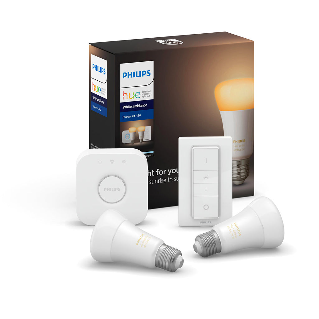 Philips HUE White Ambiance Bluetooth Bulb Starter Kit E27