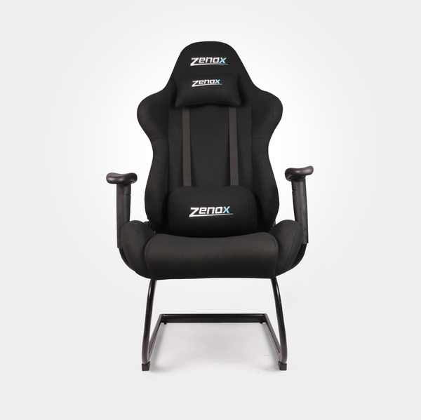 Pluto Racing Sled Chair (Black) - Zenox - 2