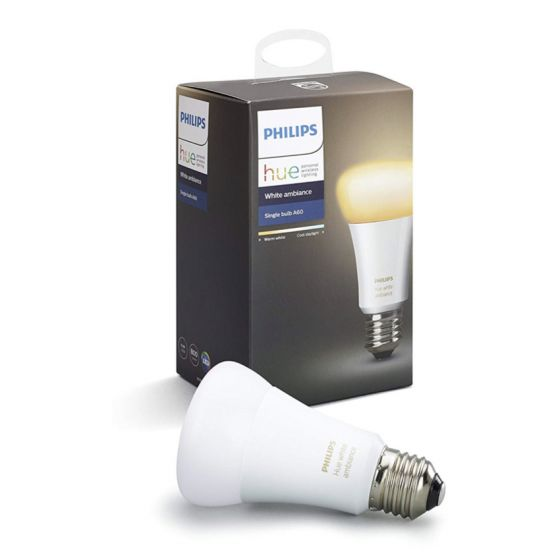 Philips Hue White Ambiance Single Bulb 9.5W A60 E27