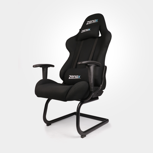 Pluto Racing Sled Chair (Black) - Zenox - 3
