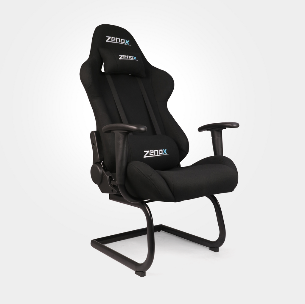 Pluto Racing Sled Chair (Black) - Zenox - 1