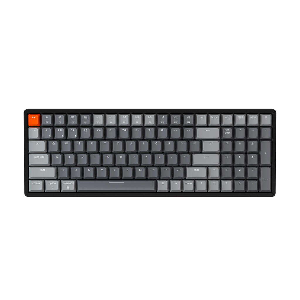 Keychron K4 (Version 2) Mechanical Keyboard - RGB | Aluminum Frame