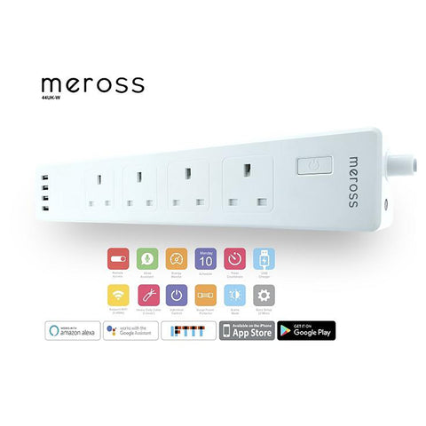 Meross 4 Port 4 USB Power Strip Smart WIFI Surge Protector