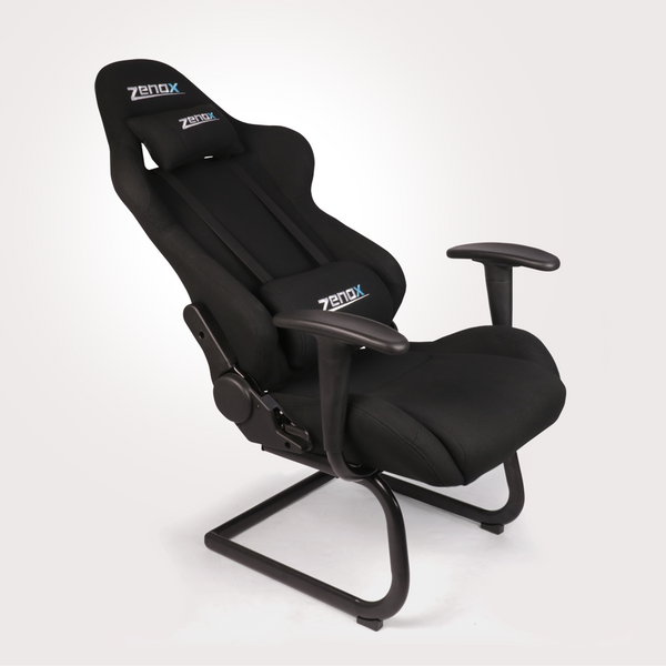 Pluto Racing Sled Chair (Black) - Zenox - 4